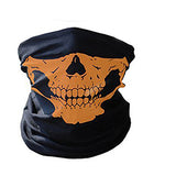 The New Sale Halloween Horror Skull Head Face Pair Set Props Festive Makeup Dress Mask High Quality Cloth Adult Ride Warm Scarf