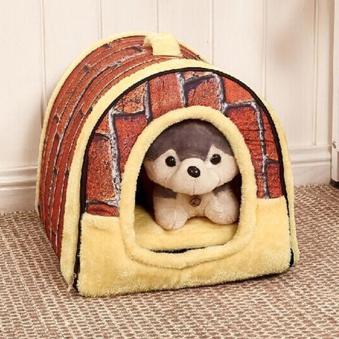 100% new and quality pet supplies doghouse removable and washable pet nest dog bed XY01