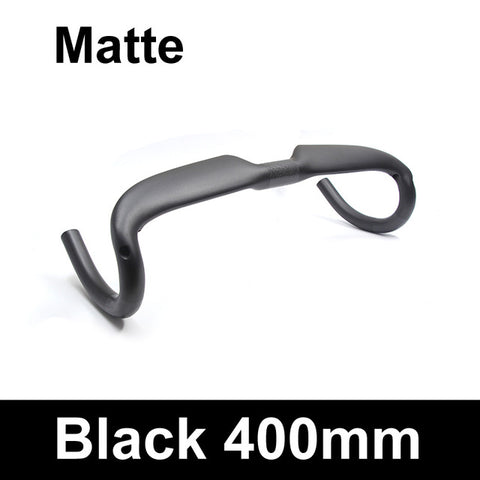 ULLICYC Road bicycle racing  Matte/Gloss full carbon handlebar internal cable carbon bike handlebar 31.8*400/420/440mm WB240