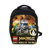 2017 Lego Backpacks Gifts for Boys Girls Kids Cartoon Movie Lego Ninjago Pattern School Bag with Pencile Case Mochila Para Ninos