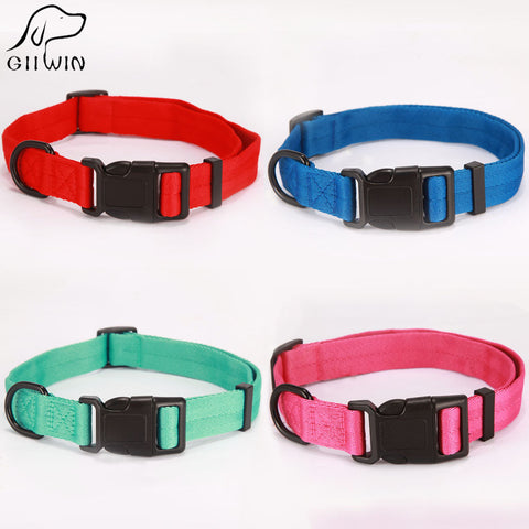 [GIIWIN] Pet Cat Collar Products for Small Puppy Pet Dog Collars Adjustable Buckle Leash Dog-Collar Harness Chihuahua YS0054