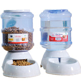 3.5L Automatic Pet Feeder Drinking Fountain For Cats Dogs Plastic Dog Food Bowl Pets Water Dispenser PF002 dog feeder pet feeder