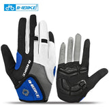INBIKE Full Finger Touch Screen Cycling Gloves MTB Bike Bicycle Gloves GEL Padded Outdoor Sport Fitness Gloves Bike Accessories