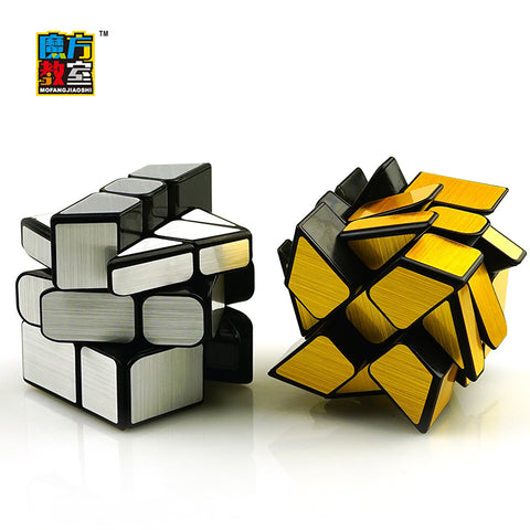 YongJun MoYu Magic Cube Wind Wheel Speed Mirror Cube Block Cubo Magico Professional Puzzle Fidget cube Toys For Children Gift