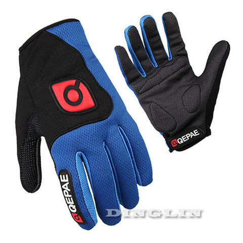 GZDL Bike Gloves Motorcycle Guantes Ciclismo MTB Road Cycling Gloves Full Finger Gel Pad Bicycle Luva Windproof Luvas MTB9012