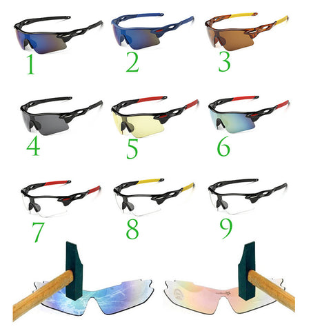 20 Styles Men&Women Cycling Sunglasses UV400 Bike Glasses Cycling Eyewear Cycle Ciclismo Sport glasses Bicycle Riding Goggles