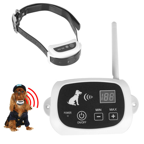 Rechargeable Waterproof Dog Training Collar Electronic Wireless Remote Control Training Collar Electric Large pet Collars