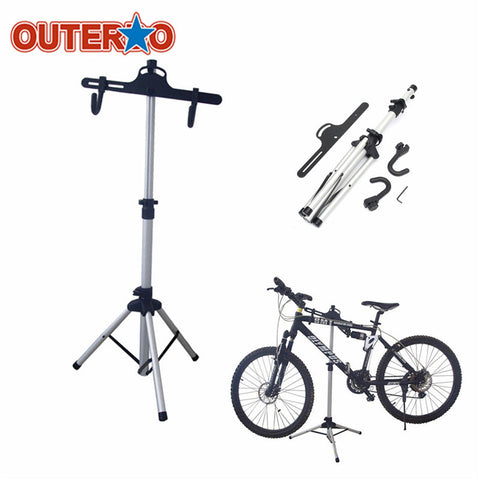 OUTERDO Heavy Duty Aluminium Alloy Bicycle Stand MTB Bike Home Storage Repair Stand Cycling Rack Holder Maintenance Tool