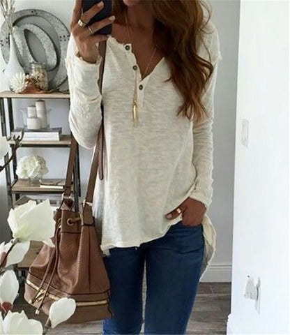 Fall 2017 Fashion Casual White Women Clothing Autumn Winter Long Sleeve Tops  Office Lady Blouses Plus Size