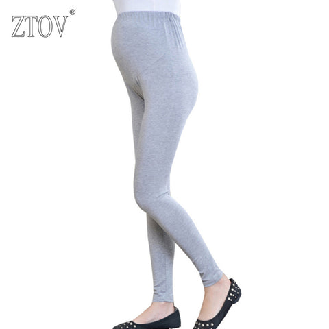 ZTOV Thin Spring Modal Maternity legggings Pregnancy Clothes Autumn Women Pants For Pregnant Women Leggings Maternity Clothing