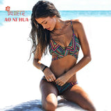 Sexy Brazilian Bikini Set Women Low waist Push up Swimsuit 2017 Swimwear bathing suit summer New beachwear women wholesale