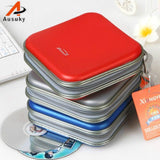 A Ausuky Portable Envelope 40 Disc Capacity DVD CD Case Plastic  for Car Media Storage CD Bag -30