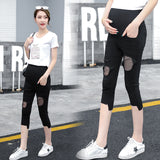 New Moms Maternity Pants summer Maternity Trousers High waisted Pregnancy Trousers for pregnant women pregnancy clothes 939
