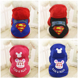 Warm Pet Dog Clothes Puppy Outfit Winter Dog Clothes For Small Dogs Chihuahua Clothing Pet Coat Yorkie Hoodie XS-XXL 25S1