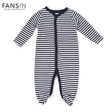 FANSIN Brand Baby Rompers 100% Cotton Clothes Long Sleeved Coveralls Newborns Boy Girl Baby Clothing For Autumn Winter Jumpsuits