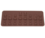 1PCS Chess Shape Silicone Cake Molds Fondant Cake Jelly Candy Chocolate Mold DIY Bakware Decorate