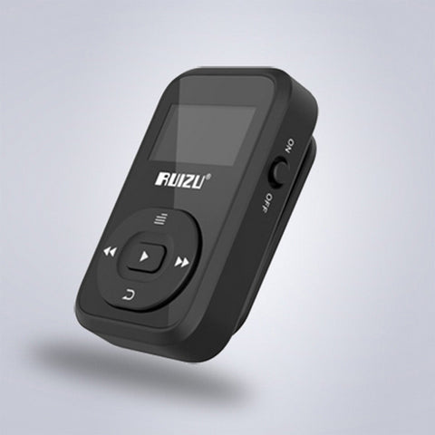Ruizu LCD Sport Audio Mini Bluetooth Mp3 Player Music Audio Mp 3 Mp-3 With Radio Digital Hifi Hi-Fi Screen Fm Flac Usb 8GB Clip