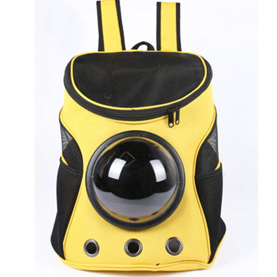 Dogleimi Pet Carrier Backpack Space Cat/Dog Carrier Capsule Bag Carrier Cats and Dogs Outdoor Products GB0092