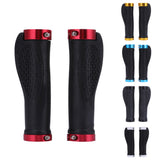 Bike Handlebar Grips Ergonomic Rubber MTB Mountain Road Cycling Bike Bicycle Grips Cycling Bike Lock On Bicycle Handlebars Grips