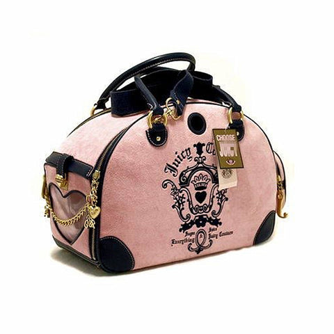 Designer Pet Carrier Small Dog Bags Cat Carrying Slings Totes Carriers For Puppy Chihuahua Traveling Handbags Pink High Quality