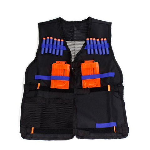 New Tactical Vest Adjustable with Storage Pockets fit for Nerf N-Strike Elite Team j2