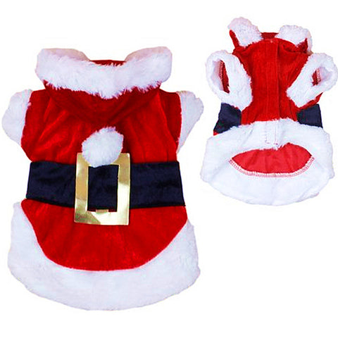 Christmas Dog Clothes for Dogs Chihuahua Winter Dog Christmas Costume Pet Clothes Warm Pet Cat Hoodie Coat Clothing 30