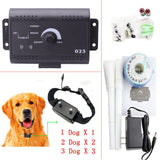 Underground Waterproof Remote Electronic  1/2/3  Dog Pet Fence Training System