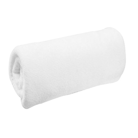 1 Piece Portable Terry White Towel for Hotel Bath Towel Washcloths Hand Towels Soft Microfiber Fabric Face Small Towel 30*60cm