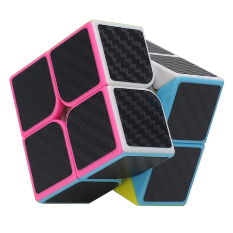 ZCUBE 2*2*2 Carbon Fiber Sticker Speed Smooth cubo magico Puzzle Educational Toys Finger Spinner Neo Cube For Children Or Adult