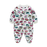 Baby Rompers Costumes Fleece For Newborn Baby Clothes Boy Girl Romper Baby Clothing Overalls Ropa Bebes Next Jumpsuit Clothes