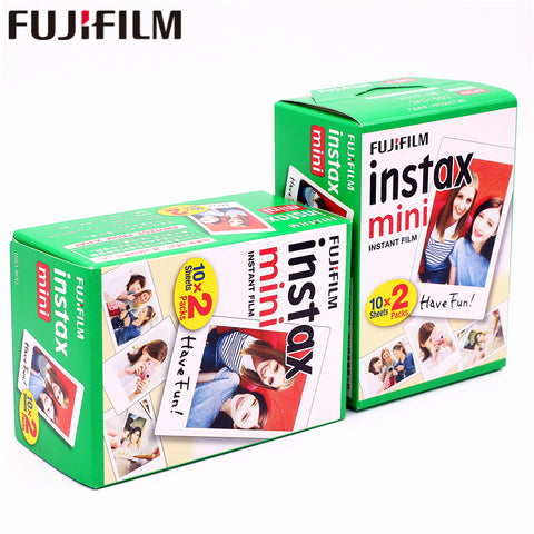 Fuji Instax Mini White Films 40sheets Instant Instax Photo Paper For Fujifilm Instax Mini 9 8 7s 7 25 50s 90 70 SP-1 SP-2 Camera