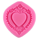 Free Shipping 3D Frame Silicone Fondant mold baking Paste Mold DIY Cake Decorating Polymer Clay Resin Candy Fimo Super Sculpey