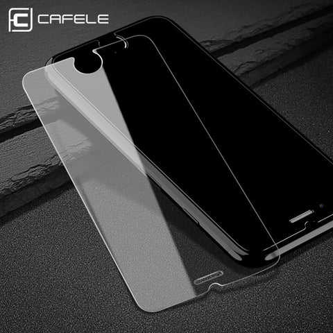 CAFELE HD Clear Screen Protector for iphone 7 8 plus 0.3 mm 2.5D Curved Edge Tempered Glass Protective Film for iPhone 7 6s Plus