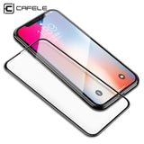 CAFELE Original Phone Screen Protector For iPhone X 10 4D Full Coverage of Nano tempered Glass For iPhone X 10 Screen Protector