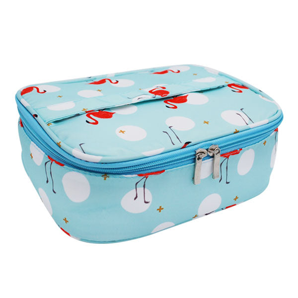 Flamingo Cosmetic Bags Women s Makeup Wash Toiletry Pouch Girls Luggage  Travel Suitcases Organizer Accessories Supplies Cases 213b608438e2f