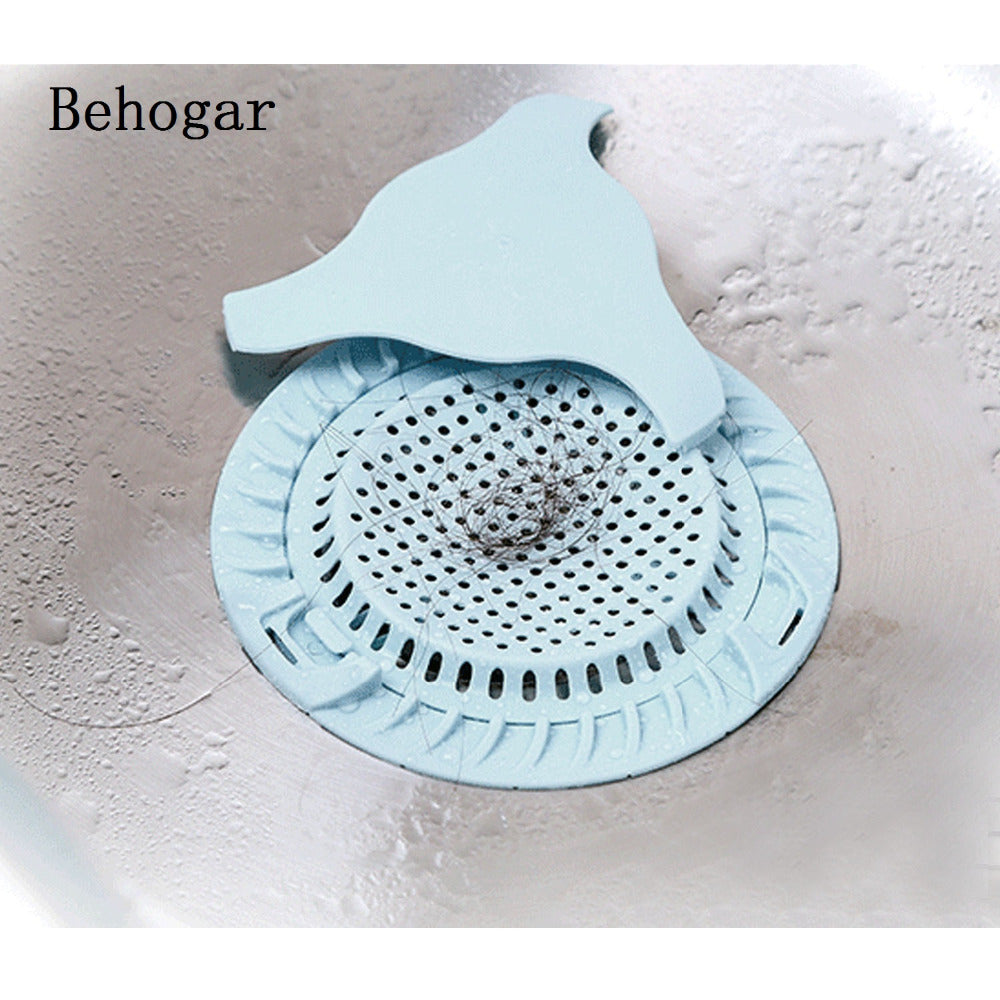 Behogar Dia 5 12inch Sink Strainer Floor Drain Cover Shower Hair
