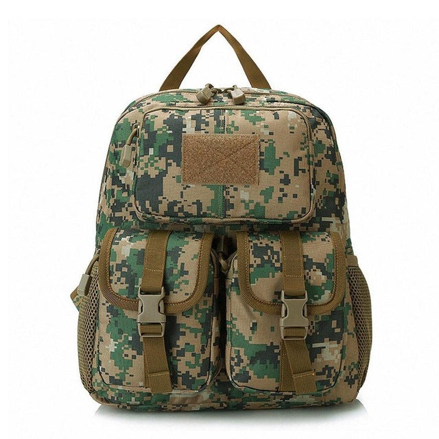 28c81499a832 12L Waterproof Tactical Backpack Bags Camouflage Outdoor Travel Backpack  Nylon Survival Camping Hiking Travel School Sport