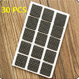 1 Set 2-48PCS Non-slip Self Adhesive Thickening Skid Protection Pad Rubber Feet Furniture Chair Pads Protective Sleeve TSLM1