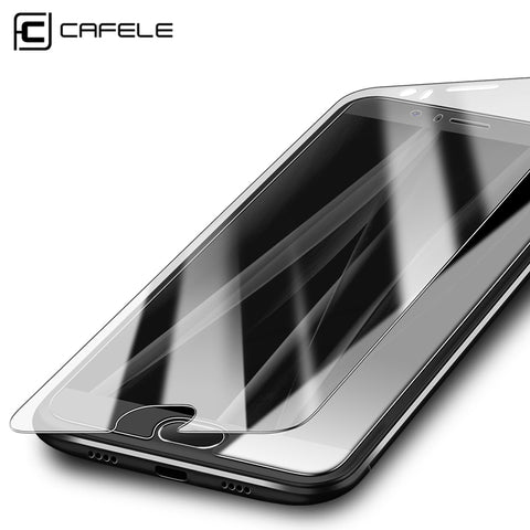 CAFELE HD Clear Screen Protector for xiaomi MI6 2.5D Curved Edge Non-full coverage Tempered Glass Protective Film for xiaomi MI6