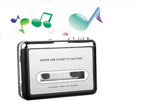 MP3 cassette capture to MP3 USB Cassette Capture Tape to PC,Super USB Cassette to MP3 Converter Cassette-to-MP3 Capture EZ218