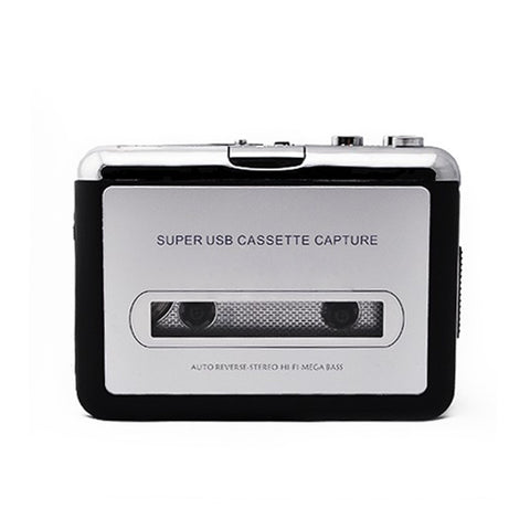 USB Cassette Tape Converter Converter Music Player Audio Capture Platform for PC MP3        @JH