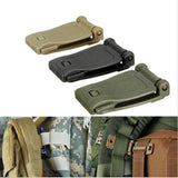 2018 Hot Bag Webbing webdom Belt Clip Clasp Outdoor Camp Hike web Buckle bushcraft kit Connect molle attach Strap link Tactical