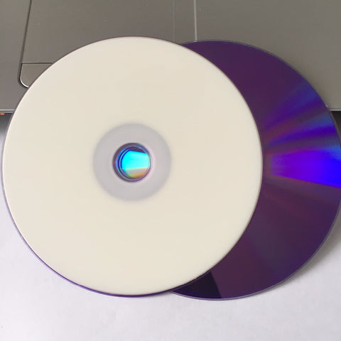 25 discs Grade A++ X8 8.5 GB Blank Printable DVD+R DL D9 Disc