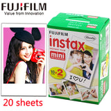 Fuji Fujifilm instax mini 9 20/10 sheets white  Monochrome Black films for instax Instant Camera mini 8 9 7s 25 90 photo paper