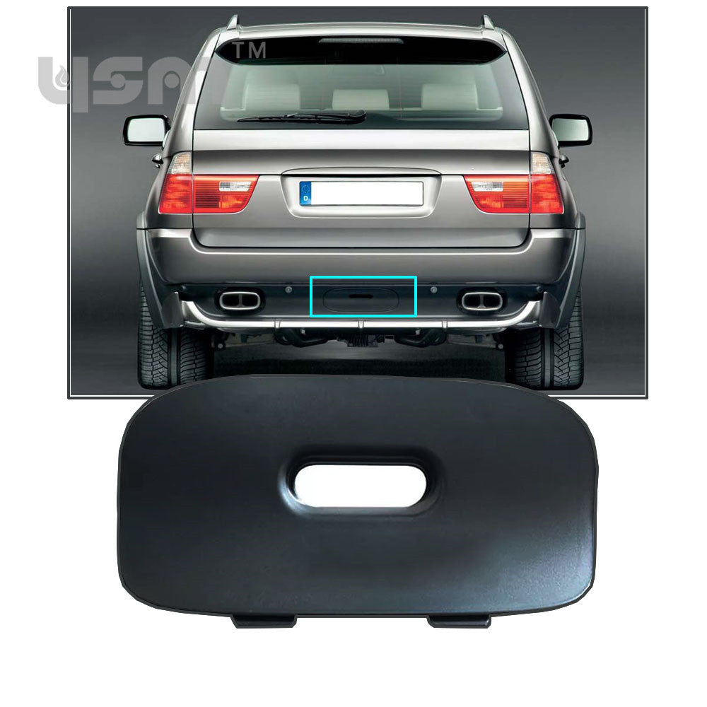 Bmw X5 Trailer Hitch Plug Shopbmwusacom Wiring Rear Bumper Cover Flap Mount For E53