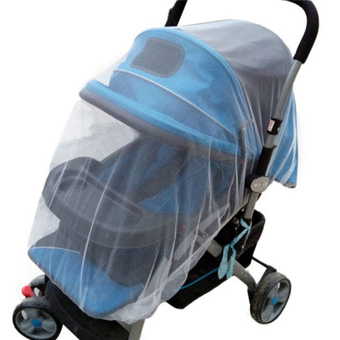 Hot Sales 1Pc White Infants Baby Stroller Pushchair Mosquito Insect Net Safe Mesh Buggy Crib Netting Cart Mosquito Net