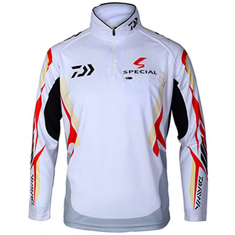 Outdoor sportswear DAIWA Fishing shirt Anti-UV protection Hiking Fishing clothes tackles angler sports apparel Anti mosquito