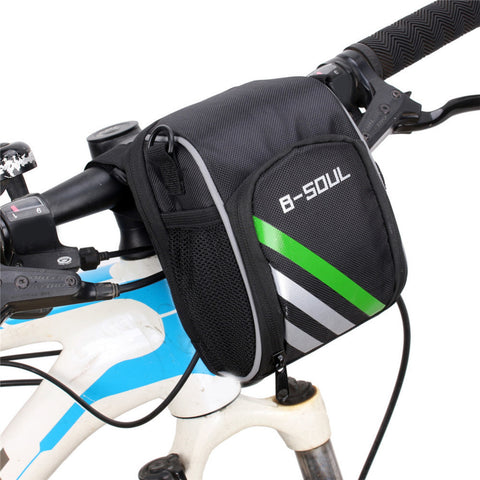 Cycling Mountain Bicycle MTB Bike Handlebar Bag Electric Scooter Head Bag Folding Bicycle Front Bar Bag For Outdoor Sports