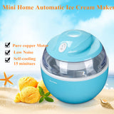 RU Korea Free! Mini Home Self-Cooling Ice Cream Maker   Automatic  soft  Ice Cream maker  Machine Freezer Instant 15 minitues