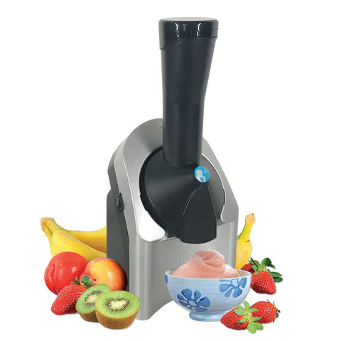 Home Electric DIY Fruit Ice Cream Machine 200W Automatic Small Ice Cream Maker Homemade  Ice Roll Maker Summer Appliances